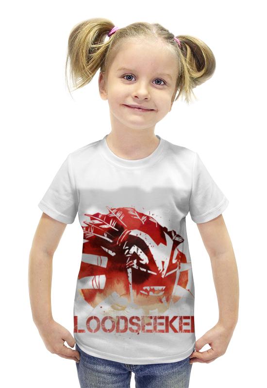 Футболка с полной запечаткой для девочек Printio Bloodseeker dota 2 футболка с полной запечаткой для девочек printio dota 2 ember spirit