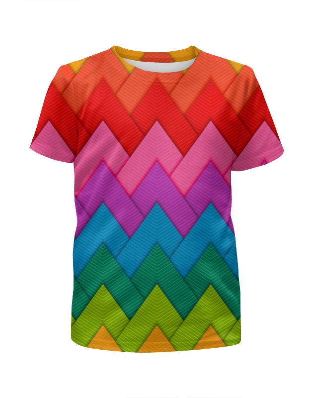 Printio Papercraft style футболка с полной запечаткой для девочек printio digital urban style