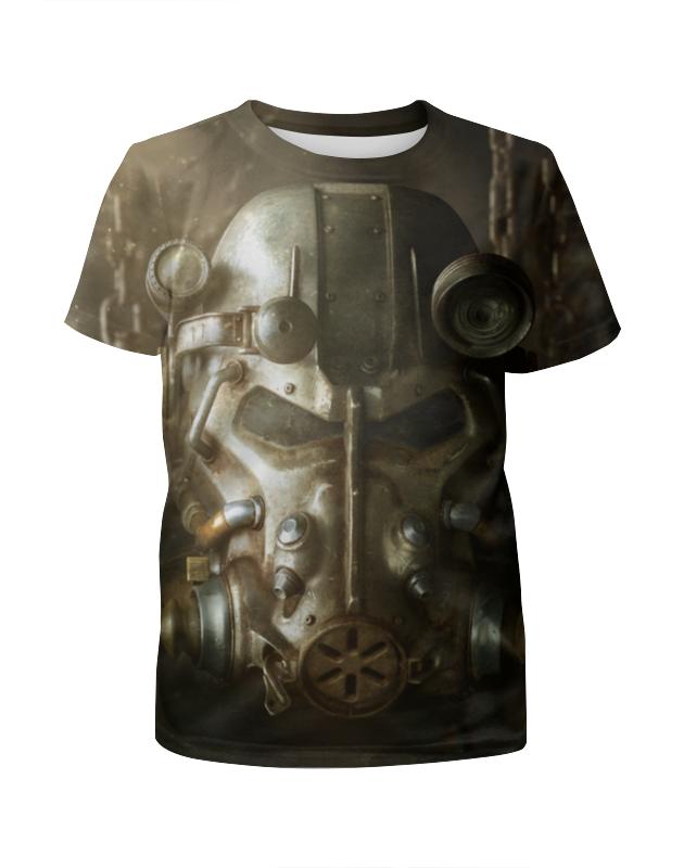 Футболка с полной запечаткой для девочек Printio Fallout 4 футболка с полной запечаткой для девочек printio battlefield 4