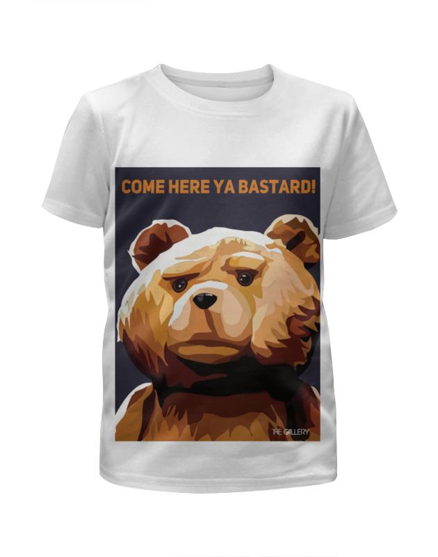 Футболка с полной запечаткой для девочек Printio Мишка тед футболка с полной запечаткой для девочек printio щенок