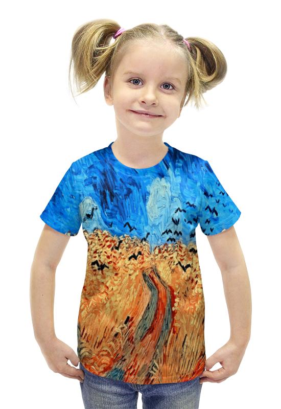 Футболка с полной запечаткой для девочек Printio Живопись футболка с полной запечаткой для девочек printio spawn