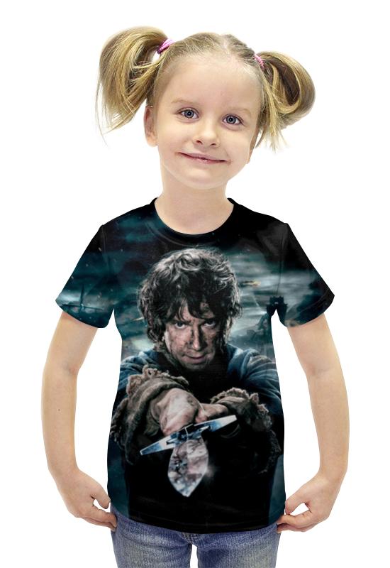 Футболка с полной запечаткой для девочек Printio Hobbit футболка с полной запечаткой для девочек printio пртигр arsb