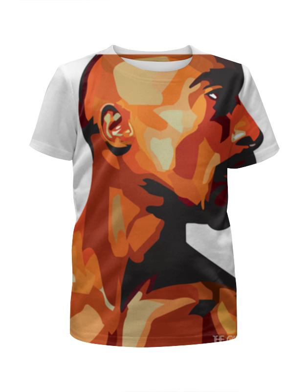 Футболка с полной запечаткой для девочек Printio Тупак шакур футболка с полной запечаткой для мальчиков printio тупак 2pac