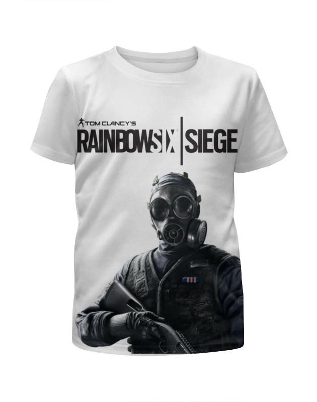 Футболка с полной запечаткой для девочек Printio Rainbow six футболка с полной запечаткой для мальчиков printio штурм спецназа rainbow six