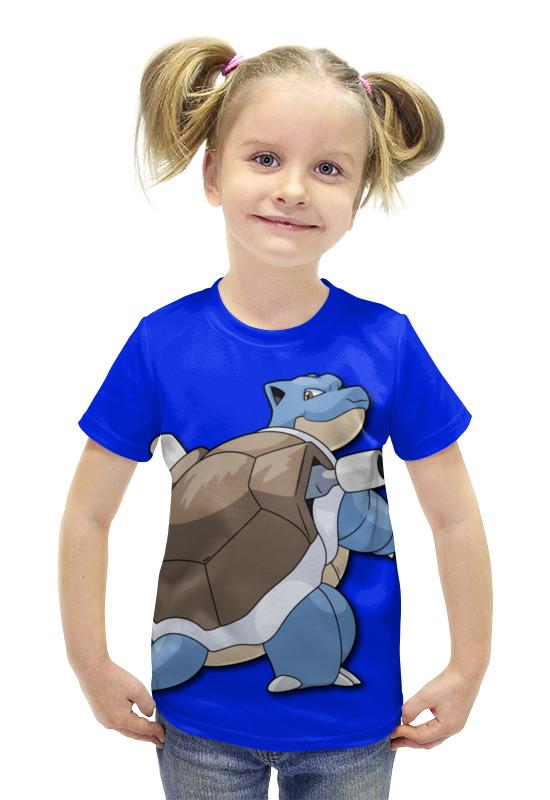 Футболка с полной запечаткой для девочек Printio Бластойз футболка с полной запечаткой для девочек printio пртигр arsb