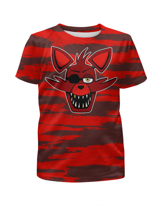 Printio Пять ночей у фредди (foxy) футболка с полной запечаткой для девочек printio пять ночей у фредди