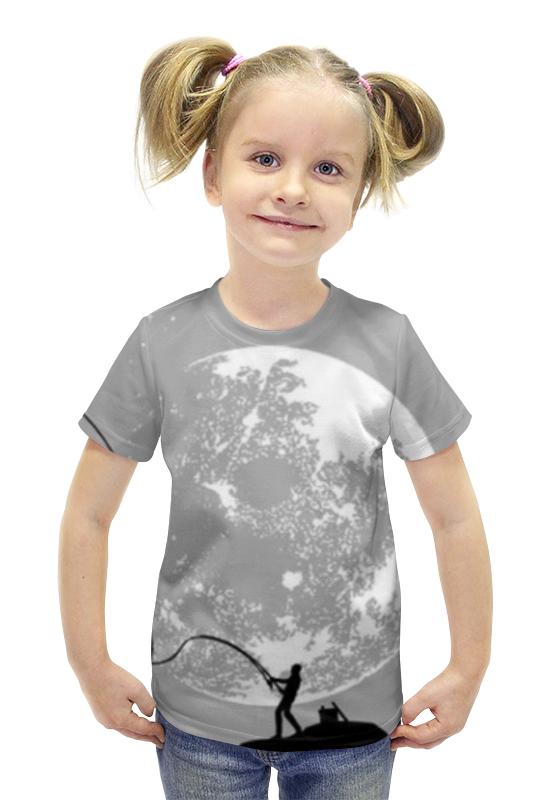 Футболка с полной запечаткой для девочек Printio Рыбалка футболка с полной запечаткой для девочек printio пртигр arsb