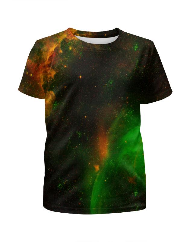 Футболка с полной запечаткой для девочек Printio Вселенная футболка с полной запечаткой женская printio вселенная