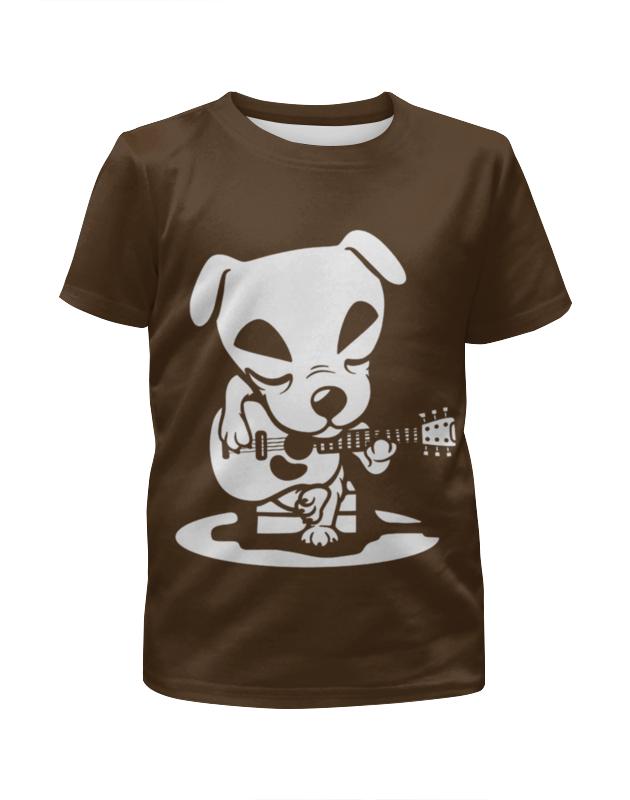 Футболка с полной запечаткой для девочек Printio Гитарист футболка с полной запечаткой для мальчиков printio гитарист
