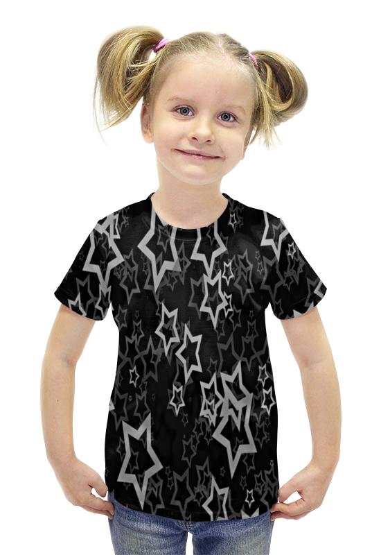 Футболка с полной запечаткой для девочек Printio Звезды футболка с полной запечаткой для девочек printio пртигр arsb