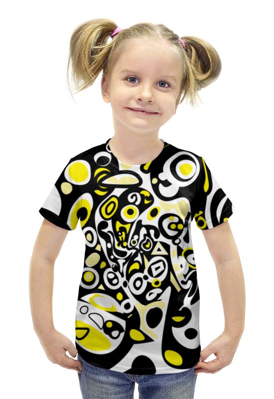Футболка с полной запечаткой для девочек Printio Iommm5023 футболка с полной запечаткой для девочек printio пртигр arsb
