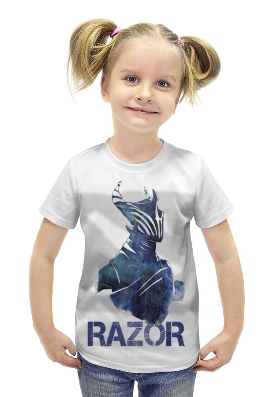Футболка с полной запечаткой для девочек Printio Razor dota 2 футболка с полной запечаткой для девочек printio dota 2 ember spirit