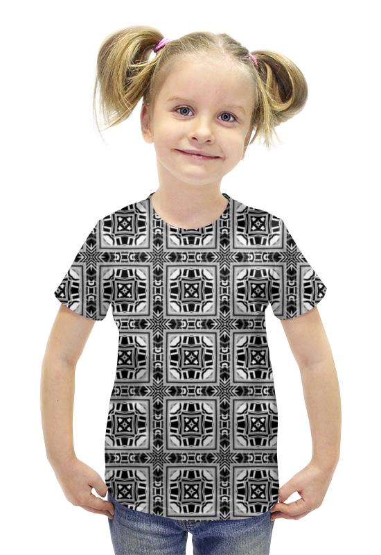 Футболка с полной запечаткой для девочек Printio Hkkknmnm200056 футболка с полной запечаткой для девочек printio пртигр arsb