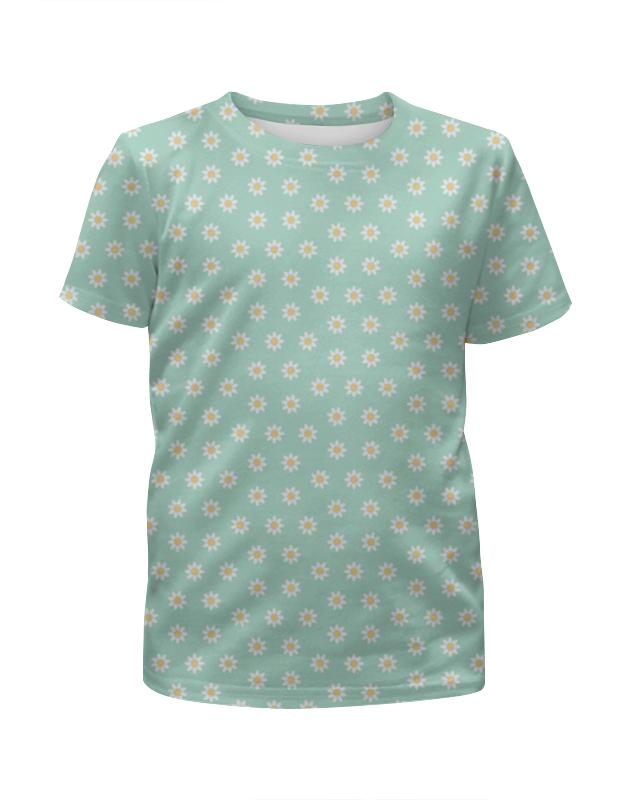 Футболка с полной запечаткой для девочек Printio Маргаритки футболка с полной запечаткой для девочек printio детство
