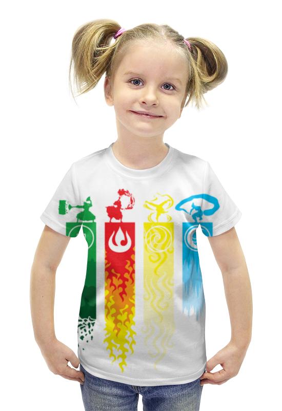 Футболка с полной запечаткой для девочек Printio Аватар футболка с полной запечаткой для девочек printio spawn