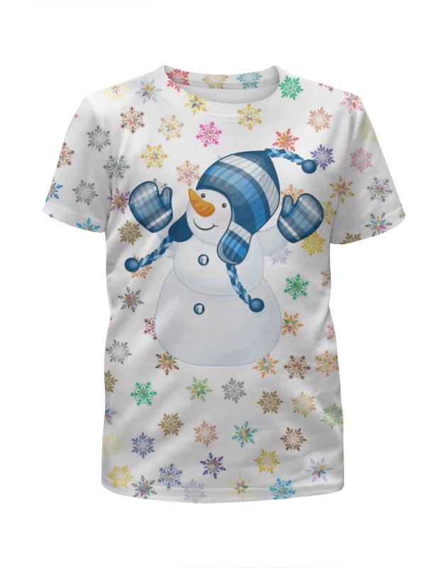 лучшая цена Printio Снеговик