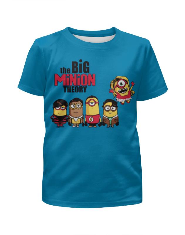 Футболка с полной запечаткой для девочек Printio Миньоны / minions футболка с полной запечаткой для девочек printio миньоны minions