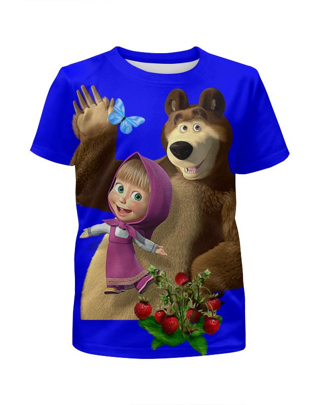 Printio Маша и медведь. мультфильмы