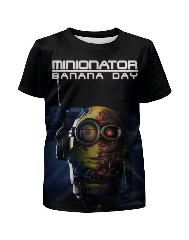 Футболка с полной запечаткой для девочек Printio Миньоны / minions футболка с полной запечаткой для мальчиков printio гадкий я миньоны