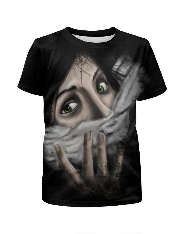 Футболка с полной запечаткой для девочек Printio Art horror футболка с полной запечаткой для девочек printio skull art