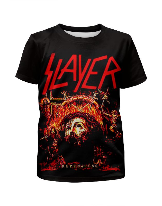 Футболка с полной запечаткой для девочек Printio Slayer repentless 2015 футболка с полной запечаткой мужская printio slayer repentless 2015 3