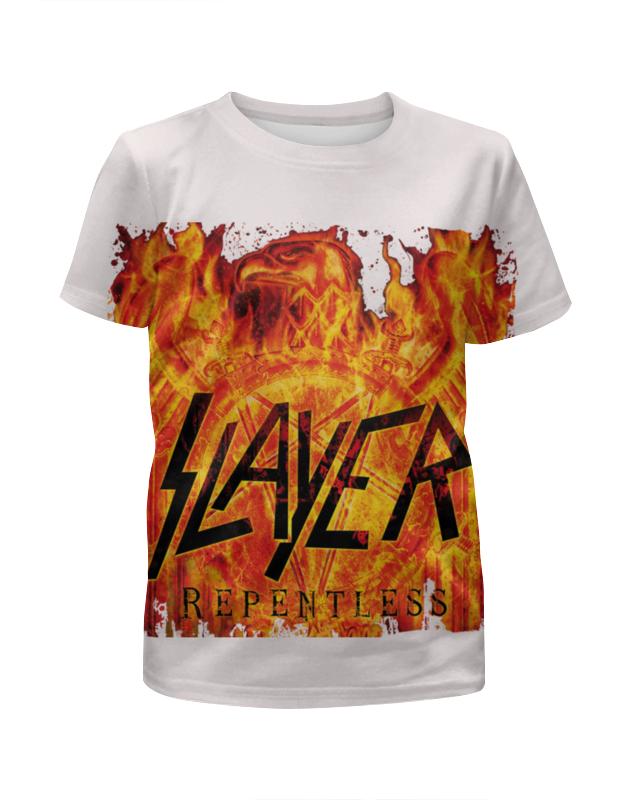 Футболка с полной запечаткой для девочек Printio Slayer repentless 2015 (3) футболка с полной запечаткой мужская printio slayer repentless 2015 3
