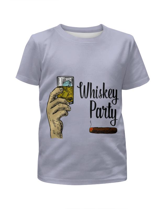 Футболка с полной запечаткой для девочек Printio Whiskey party футболка с полной запечаткой для девочек printio пртигр arsb