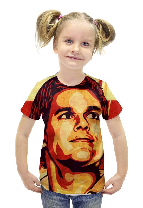 Футболка с полной запечаткой для девочек Printio Декстер футболка с полной запечаткой для девочек printio spawn