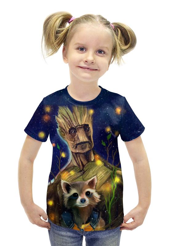 Футболка с полной запечаткой для девочек Printio Галактика футболка с полной запечаткой для девочек printio пртигр arsb