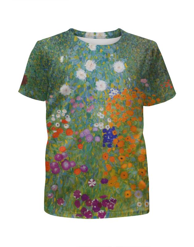 Printio Цветочный сад (густав климт) картина поцелуй густав климт