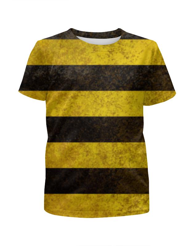 Футболка с полной запечаткой для девочек Printio Полосы 4 футболка с полной запечаткой для девочек printio battlefield 4