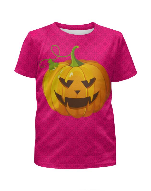 Футболка с полной запечаткой для девочек Printio Halloween
