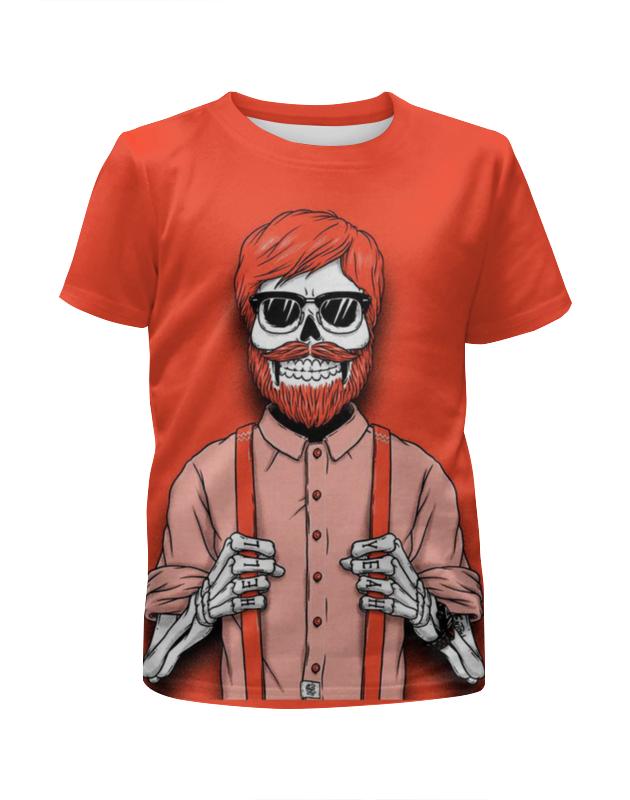 Футболка с полной запечаткой для девочек Printio Bones brigade футболка с полной запечаткой для мальчиков printio bones brigade