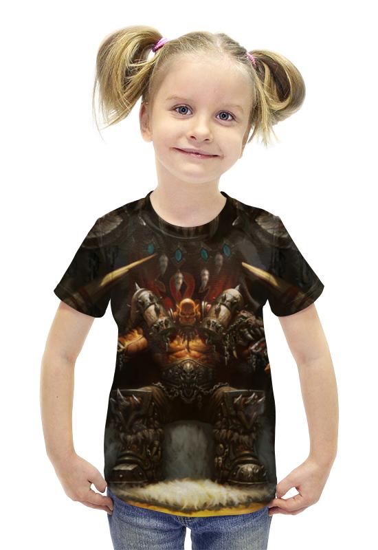 Футболка с полной запечаткой для девочек Printio Гаррош футболка с полной запечаткой для девочек printio пртигр arsb