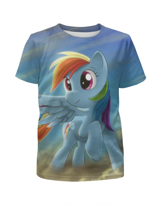 Футболка с полной запечаткой для девочек Printio My little pony комплект одежды для девочек little miss 2015 tzfk