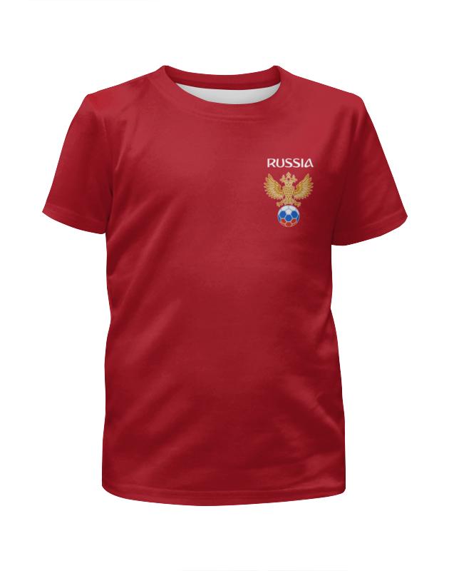 Футболка с полной запечаткой для девочек Printio Сборная россии футболка с полной запечаткой для мальчиков printio сборная россии по футболу