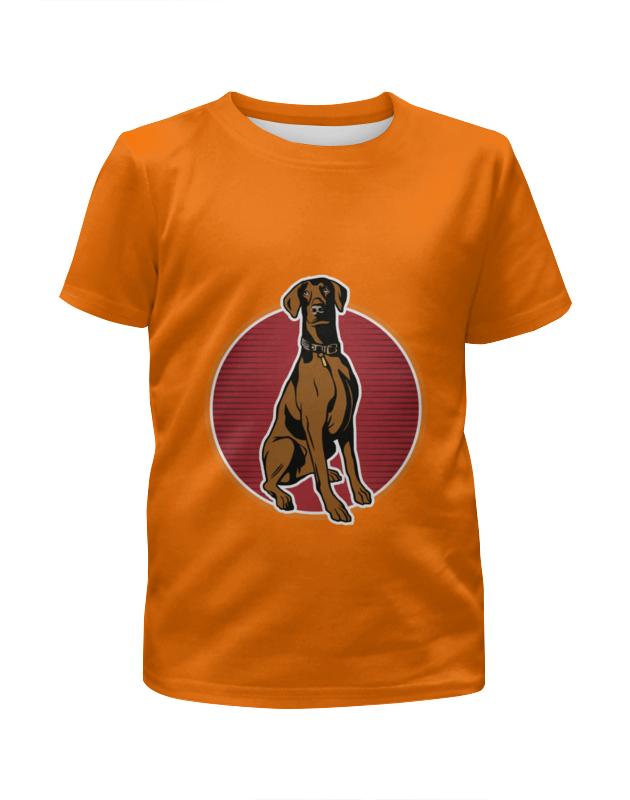 Футболка с полной запечаткой для девочек Printio Любимый пёс футболка с полной запечаткой для девочек printio пёс бродяга