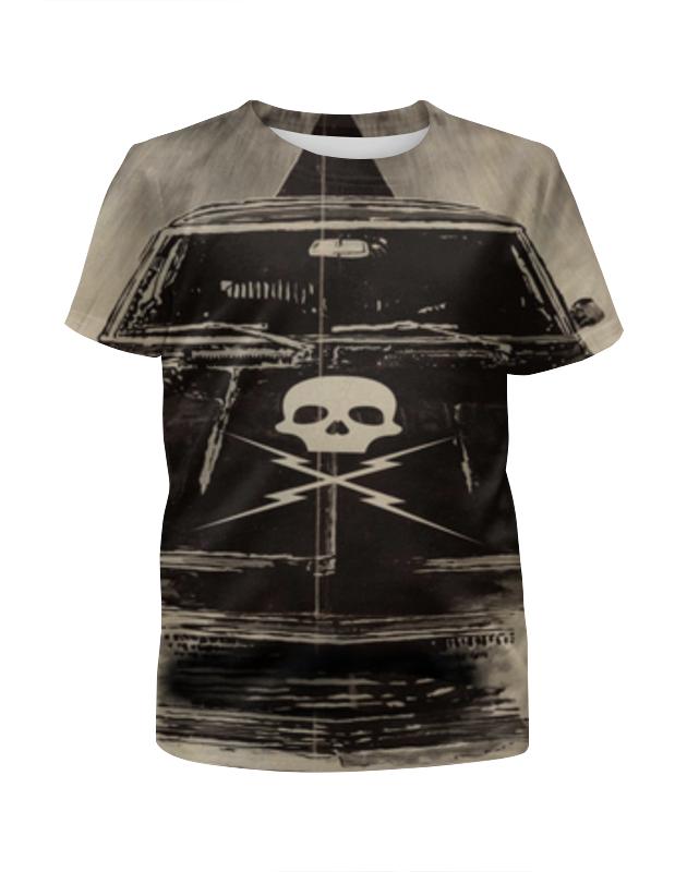 Футболка с полной запечаткой для девочек Printio Доказательство смерти (death proof) футболка с полной запечаткой для девочек printio солдаты смерти