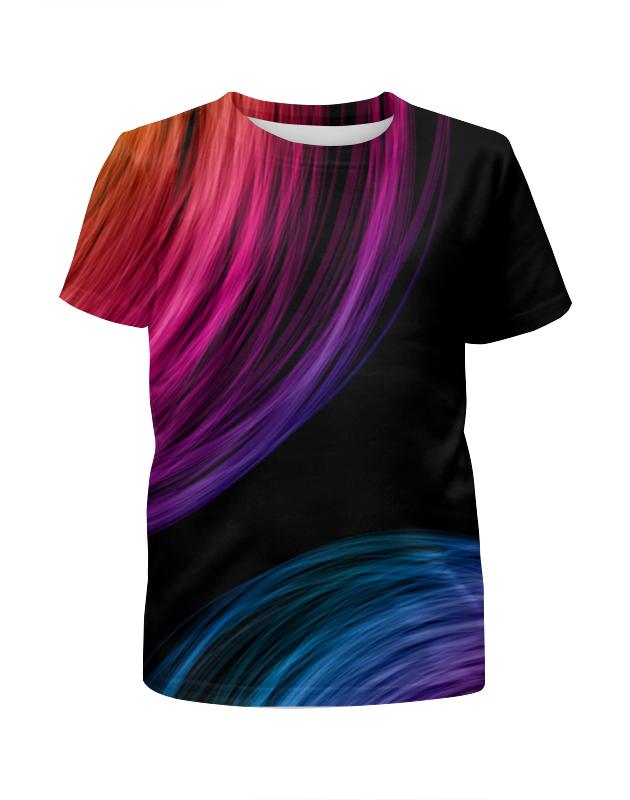 Футболка с полной запечаткой для девочек Printio Абстракция футболка с полной запечаткой для девочек printio цветная клетка
