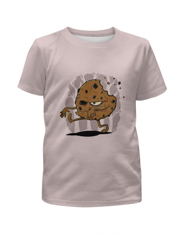 Printio Печенье-зомби футболка с полной запечаткой для девочек printio зомби геймер