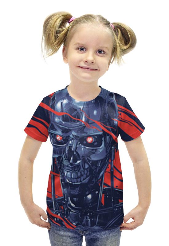 Футболка с полной запечаткой для девочек Printio Терминатор футболка с полной запечаткой для девочек printio пртигр arsb
