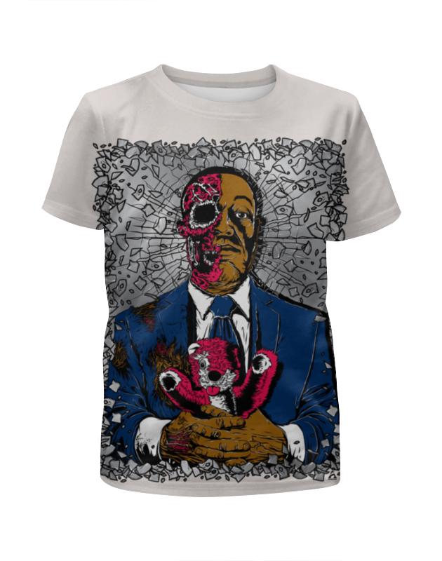 Футболка с полной запечаткой для девочек Printio Zombie art футболка с полной запечаткой для девочек printio glitch art чёрная дыра