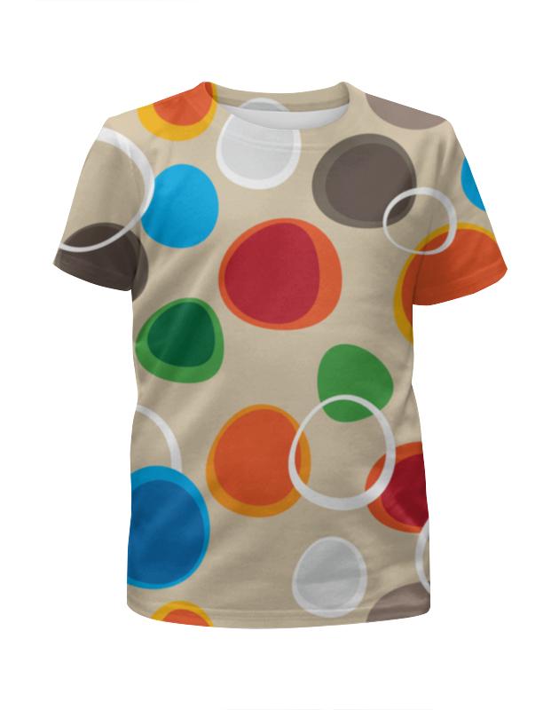 Футболка с полной запечаткой для девочек Printio Цветная абстракция футболка с полной запечаткой для девочек printio цветная мозаика