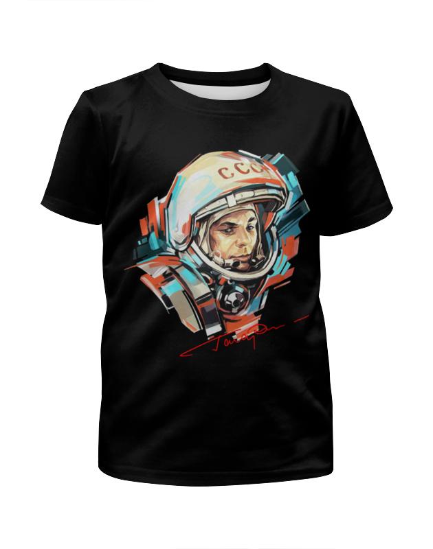 Футболка с полной запечаткой для девочек Printio Юрий гагарин футболка с полной запечаткой для девочек printio пртигр arsb