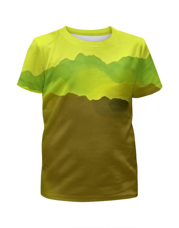 Футболка с полной запечаткой для девочек Printio Живописные краски футболка с полной запечаткой для девочек printio жидкие краски
