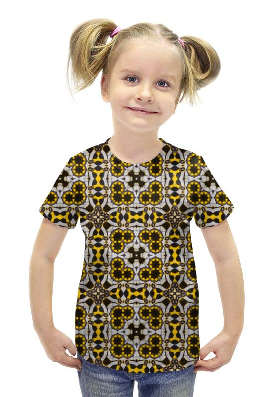 Футболка с полной запечаткой для девочек Printio Oolop7600 футболка с полной запечаткой для девочек printio рианна