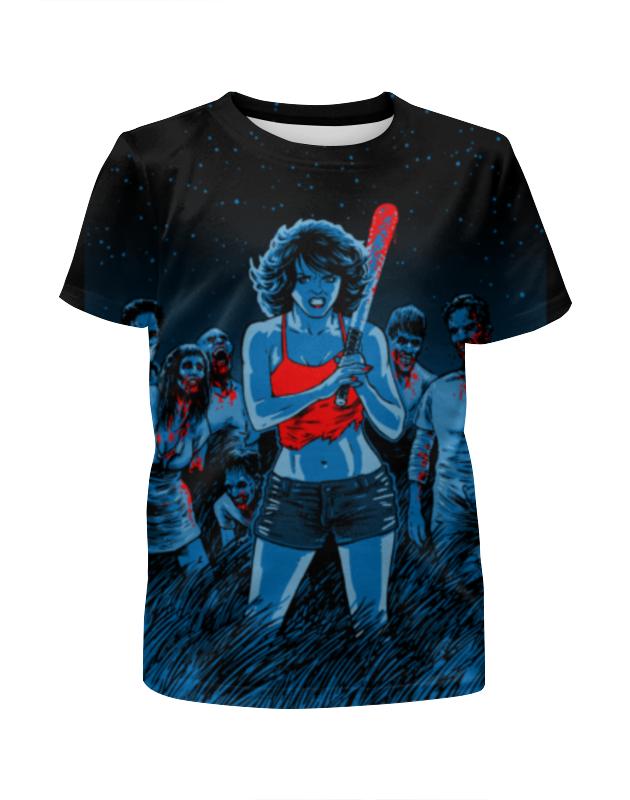 Printio Зомби футболка с полной запечаткой для девочек printio зомби геймер