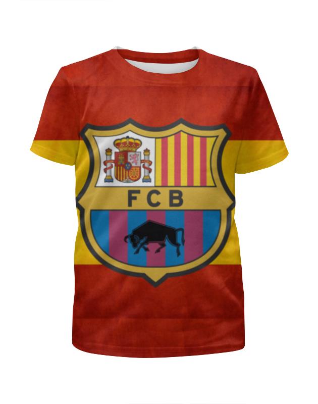 Футболка с полной запечаткой для девочек Printio Барселона tryp barcelona condal mar hotel 4 барселона