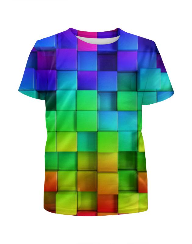 Футболка с полной запечаткой для девочек Printio Colorful футболка с полной запечаткой для девочек printio мишка тед