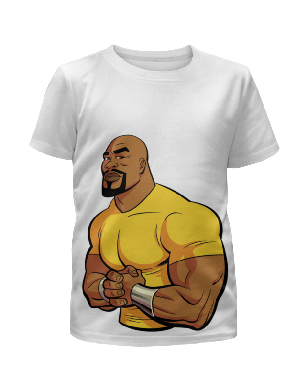 Футболка с полной запечаткой для девочек Printio Люк кейдж футболка с полной запечаткой для девочек printio пртигр arsb
